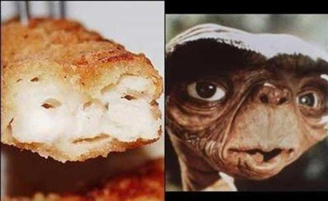 Foods That Weirdly Look Like Beloved Fictional Characters