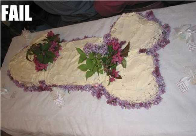 Cringe-Worthy Wedding Cake Fails