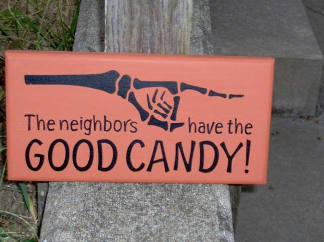 The Funniest Trick-or-Treating Signs from Neighborhoods Across America