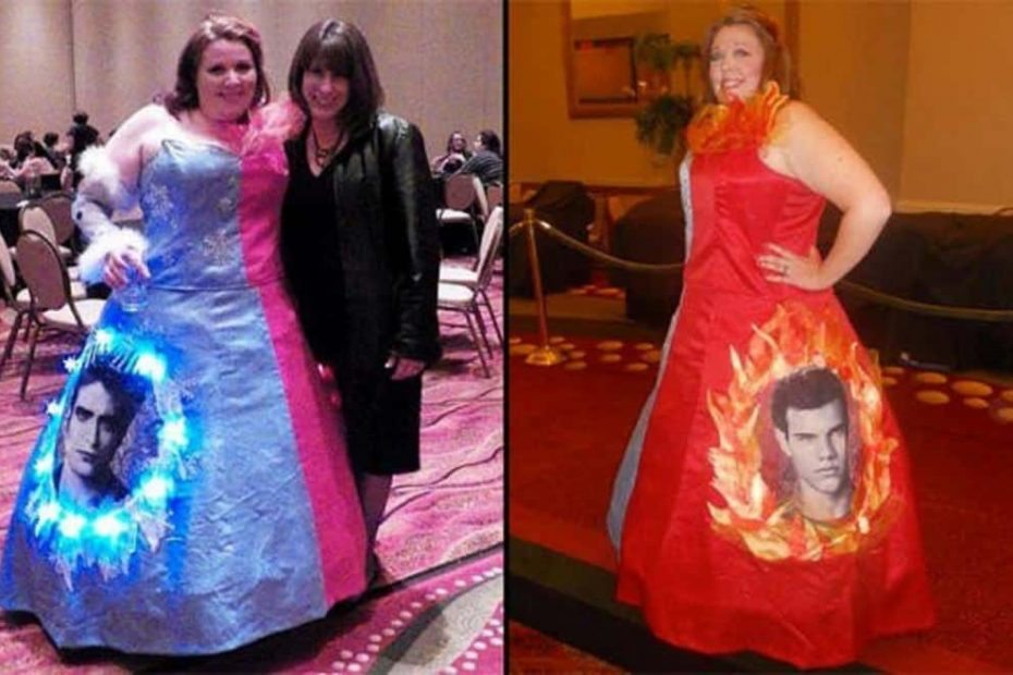 The Ugliest Prom Dresses of All Time