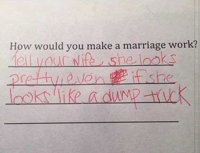 53 Hilarious Test Answers From Kids