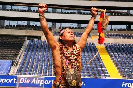 "Ecuadorian National Soccer Team's ""Witch Doctor"""