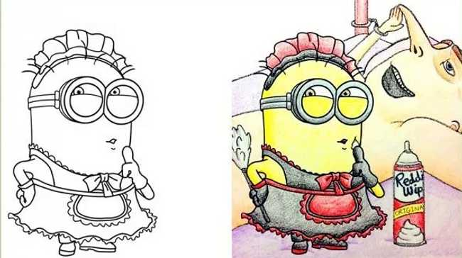 Coloring Book Corruptions That Will Taint Your Childhood