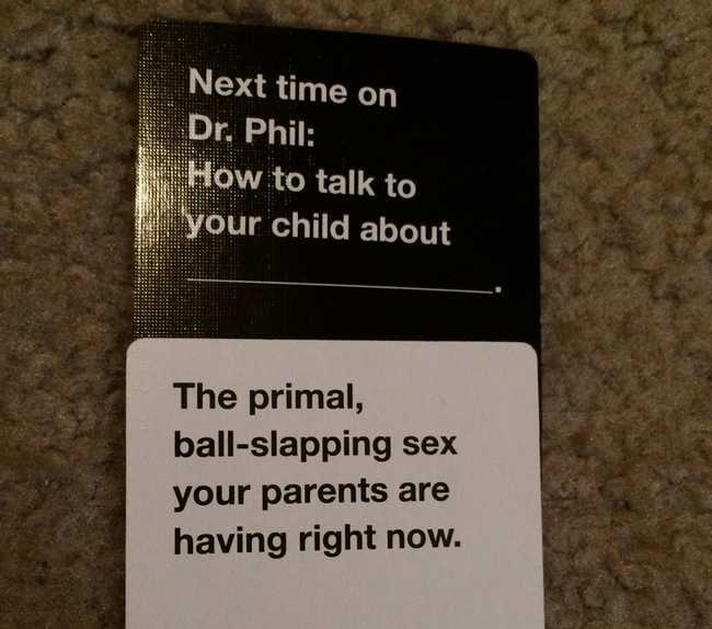 Hilariously Offensive Cards Against Humanity Moments