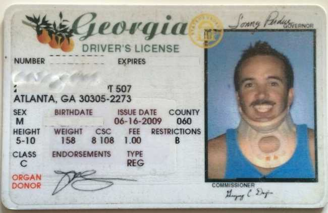 Funny Real Driver's License Photos