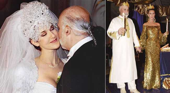 30 of the Wackiest Celebrity Wedding Gowns