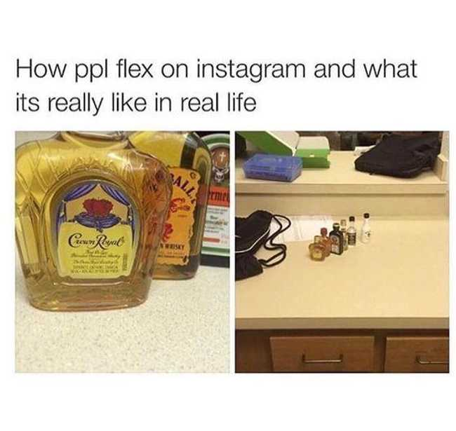 The Funniest Instagram Vs. Real Life Memes