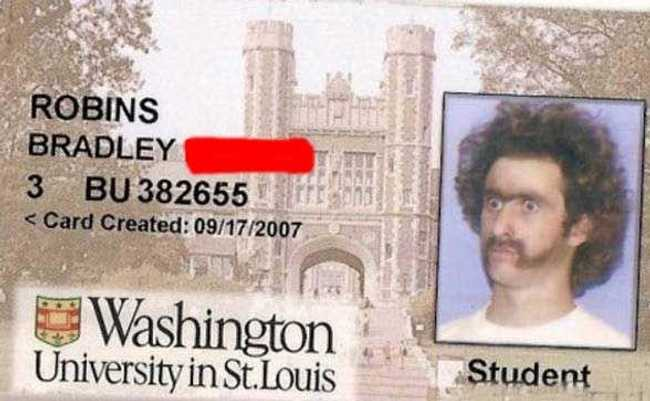 Student ID Card Pictures That Totally Nailed It