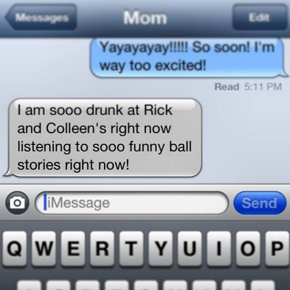 22 Super Funny Texts from Drunk Moms
