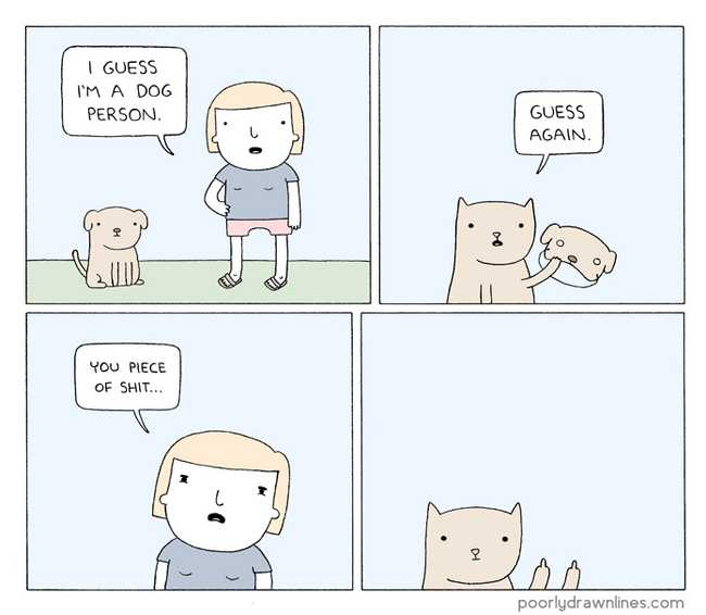 22 Poorly Drawn Comics With Surprisingly Hilarious Endings