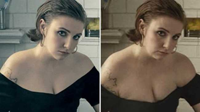 Un-Retouched Photos of Famous Celebrities