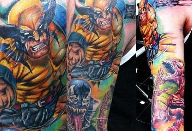 The Best Marvel Comics Tattoos
