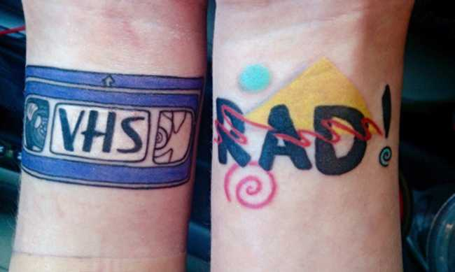 Tattoos Inspired by '90s Pop Culture